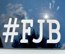 Fjb Anti Buck Biden Vinyl Decal Funny Car Laptop Sticker Trending Hashtag Trump