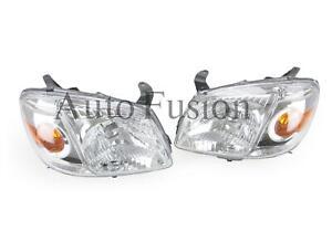 Headlights Pair For Mazda Bt-50 Un 2008-2011
