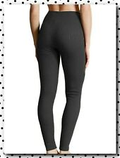 SALE  £16 New M&S Womens Thermal Leggings Soft Winter Tight Black