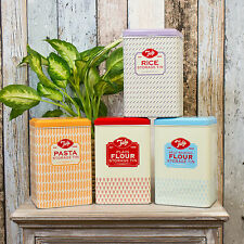 4 Pezzi Tala Originals CUCINA Storage BOMBOLETTA Set farina pasta riso LATTINE BARATTOLI
