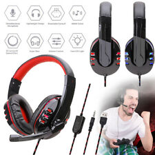 3.5mm Gaming Headset For Xbox One PS4 Nintendo Switch PC Mac Headphones With Mic
