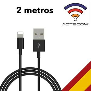 ACTECOM CABLE USB PARA IPHONE 6 / IPHONE 7 / IPHONE 8 PLUS 2 metros
