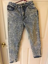 Vtg Guess High Waist Mom Jeans Blue Denim Sz 30 Georges Marciano Style 1050 LG