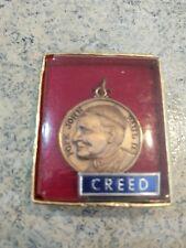Vintage Creed Pope John Paul II Pendant