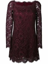NEW Dolce & Gabbana Floral Lace Sheath Mini Dress Gown Size 42 6 $2745 CURRENT