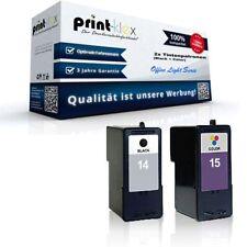 2x Mega Ink cartridges for Lexmark X 2670 Z 2300 2310 2320 - Office Light Series