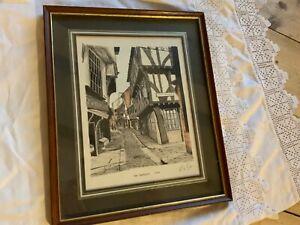 Stunning Framed Print by Charles David Green of The Shambles York
