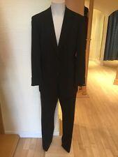 Roy Robson Men's Suit Size 44/R BNWT Black RRP £297 Now £69