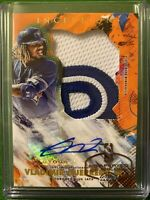 Vladimir Guerrero Jr 2020 Topps Inception AUTO Relic 21/25 ORANGE Blue Jays