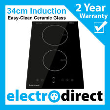Brilcon 34cm Induction Cooktop Electric Hob Cook Top Stove Ceramic Black Glass