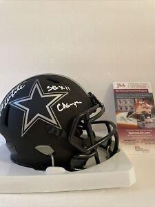 Danny White Signed Eclipse Mini Helmet JSA COA Dallas Cowboys SB XII Champ