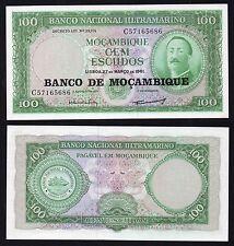 100 escudos Mocambique 1961 FDS/UNC  '