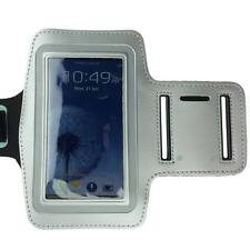 Silver Sports Running Gym Armband Arm Band Case for Samsung Galaxy S5 S4 S3 S2