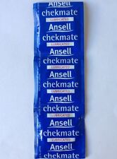 3  Ansell Checkmate Condoms – FREE Shipping