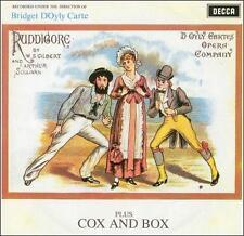 Ruddigore / Cox & Box