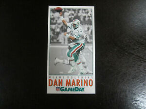 1992 Gameday National # 15 Dan Marino Autograph Signed Card Miami Dolphins JSA