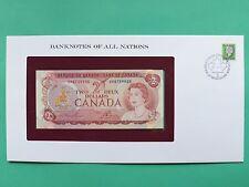 Canada due Dollari $2 FIOR montato su Franklin Nuovo di zecca COVER SNo46077