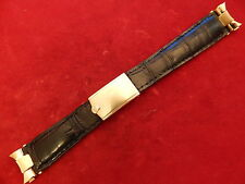 ROLEX SOLID 14K GOLD DEPLOYMENT CLASP BUCKLE 19MM END PIECE STRAP BAND BRACELET