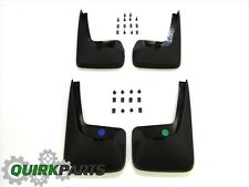 11-17 Dodge Grand Caravan FRONT & REAR MOLDED SPLASH GUARDS SET/4 OEM NEW MOPAR