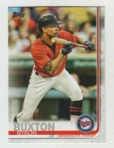 (11) Byron Buxton 2019 TOPPS SERIES 1 CARD LOT #158 MINNESOTA TWINS