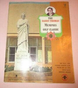 1970 Memphis Golf Classic Program - Colonia Country Club - Dave Hill Wins!