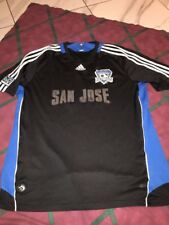 2008 Mls Adidas San Jose Earthquakes Soccer Jersey Pro Team Edition Xl Mens
