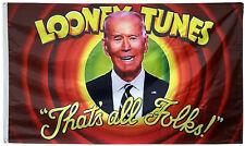 Looney Tunes Joe Biden Flag MAGA 3x5ft banner
