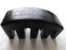 Cello mute, ebano, puro per 4/4 o 3/4, nero, articolo di qualità, Regno Unito spedizione!