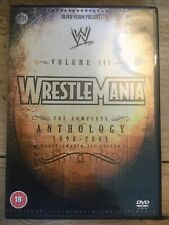 READ DESCRIPTION WWE Wrestlemania Anthology Volume 3 - Vol Three WWF RARE