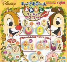Yujin Disney Characters Capsule World Chip & n Dale Figure Phone Strap Gashapon