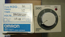 OMRON H3G-8A solid state timer 5 seconds 8 pin sockets