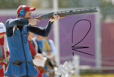 Peter Wilson Firmada A Mano 12x8 Foto Juegos Olímpicos de Londres 2012 De Oro, el 4.