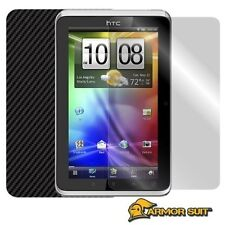 ArmorSuit MilitaryShield HTC Flyer 3G Screen Protector + Black Carbon Fiber Film