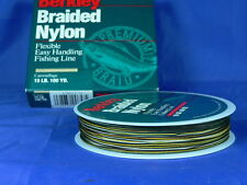 Berkley braided nylon camouflage 12 lb carp fishing, spinning luccio, black bass