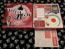 TAKE ME OUT TV Game Electronic Unit Tested Hardly Used Complete **FREEPOST UK**