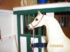 Jaapi - Simple RED Arabian Show halter - fits Breyer