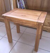 Pair of Oak Tall Lamp Side Sofa Tables 55cm High Buy 1 Pair Get 1 Pair 50 off