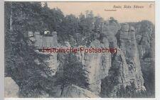 (88650) AK Sächsische Schweiz, Ferdinandstein in der Bastei 1912