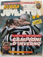 HURRA' JUVENTUS N. 2 FEBBRAIO 1995 ROBERTO BAGGIO VIALLI RAVANELLI DESCHAMPS