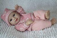 11''Newborn Doll Lifelike Handmade Silicone Vinyl Reborn Baby girl doll+clothes