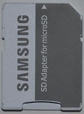Samsung 2x SD Adapter für 8 16 32 64 128 GB MicroSD microSDHC SDXC Speicherkarte