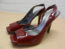 Woman's Jessica Simpson Red Heels Size 9 Shoes