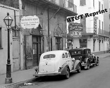 Photograph of the New Orleans Absinthe House Near Bourbon Street Year 1941 8x10