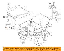 TOYOTA OEM Hood-Support Rod Grommet 9008048064