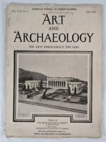 Art And Archaeology: The Arts Throughout The Ages Magazine April, 1924