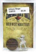 Knuckleduster GBF10 Johnny Ringo (Gunfighter's Ball) Old West Gunslinger Cowboy
