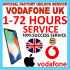 UNLOCK FOR iPhone 12 11 XS XR X 8 Plus 7s Plus 6s 6 SE 5C Vodafone UK ONLY IMEI <br/> ✅Express FAST ✅1-72 hours ✅All models ✅IMEI ONLY