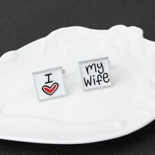 Square Christmas Wedding Cuff My Cufflinks Links Gift Men's