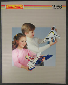 MATCHBOX 1986 CATALOG ROBOTECH, VOLTRONS, VEHICLES - 82 COLOR PAGES