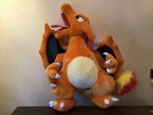 "Jumbo ""Charizad"" Pokemon Plush Toy by Nintendo 79cm (31in) Tall"